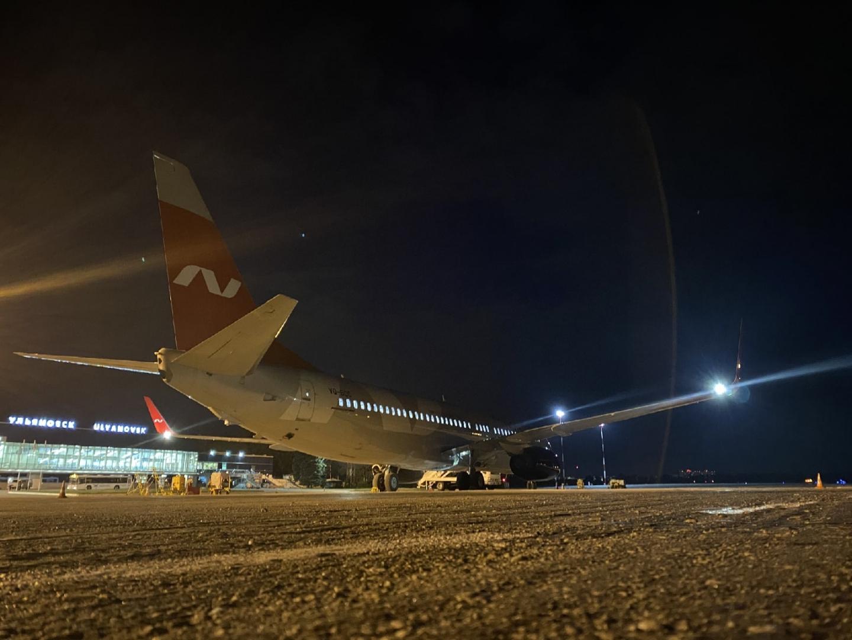 Из Ульяновска вылетел первый самолет в Египет