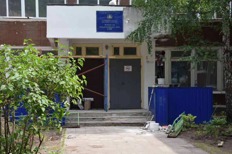В Ульяновске завершается ремонт «треснувшего» детсада №222