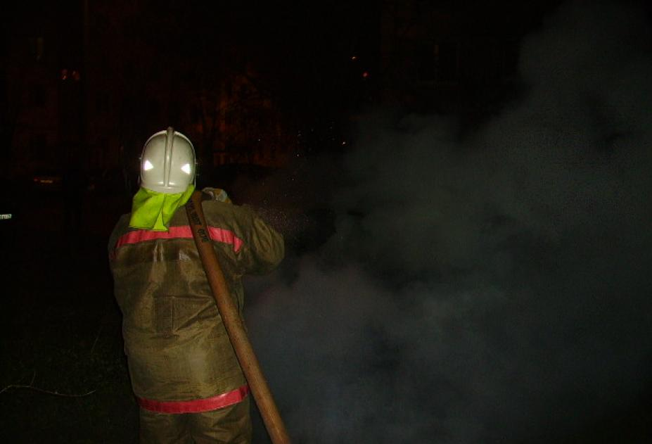 Сегодня ночью в Ульяновске сгорел ларёк с шаурмой