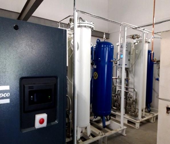 В ульяновскую больницу закупили мощный кислородный аппарат за 5 млн рублей