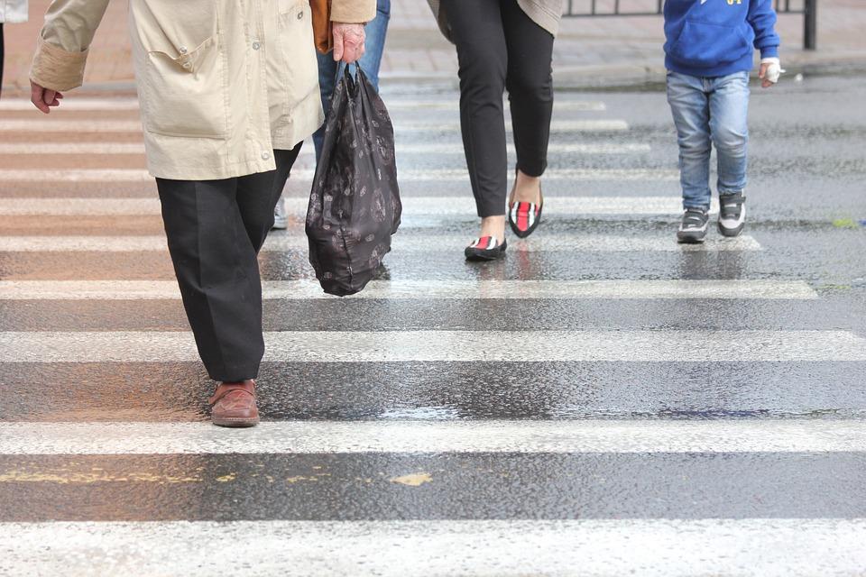 В Димитровграде мужчину сбили на пешеходном переходе