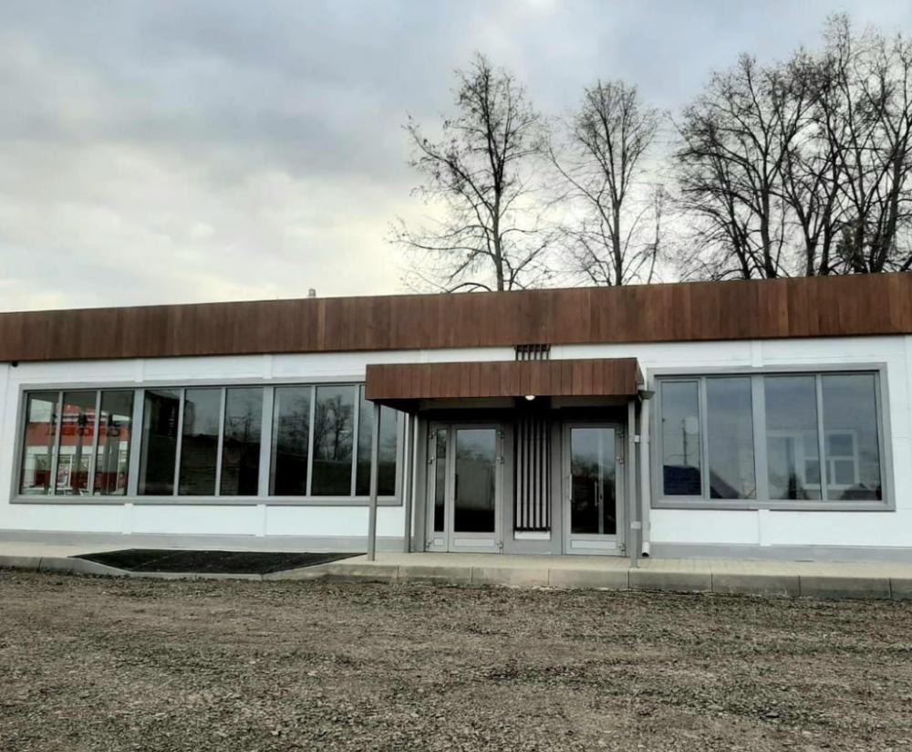 Новый автовокзал с кафе и теплым туалетом появился в Чердаклах