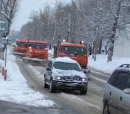 Из-за метели на дорогах области ввели временные ограничения для автобусов и грузовиков