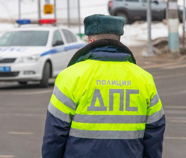 В Вешкаймском районе пьяный водитель иномарки избил гаишника