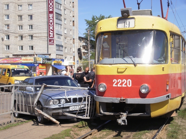 Трамвайное движение в Дальнем
