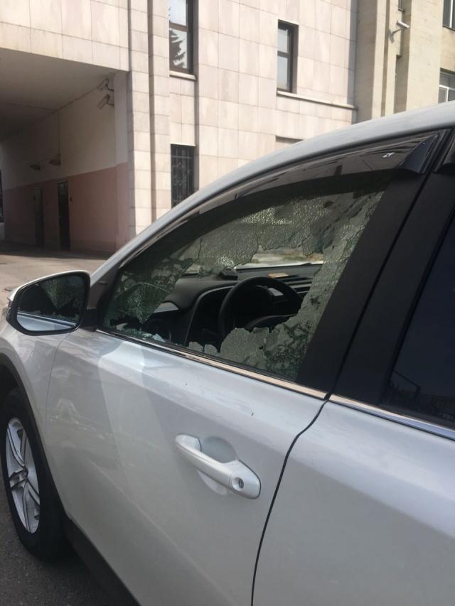 Разбила машину и расплатилась натурой русская бате