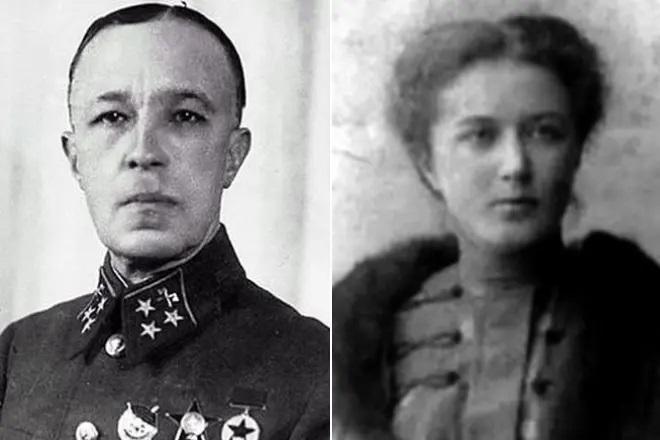 Дмитрий Карбышев и его жена Лидия