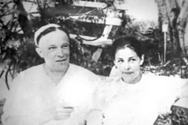 С дочерью Еленой